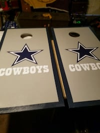 CORNHOLE BOARDS WITH BAGS COWBOYS  Oxnard, 93030