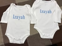 Personalized Onesies St Catharines, L2R