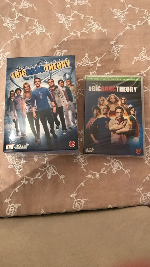 The Big bang theory sesong 1-7 uåpnet