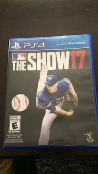 Sony PS4 The Show 17 game case Windsor, N9E 3A8