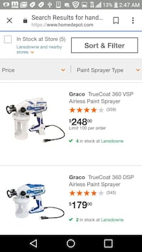 white and blue gas string trimmer screenshot Baltimore, 21223