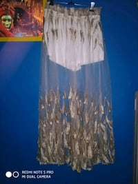 imported see through embroidered net skirt Dehradun, 248005