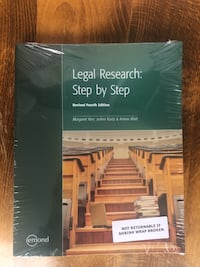 Legal research step by step 541 km