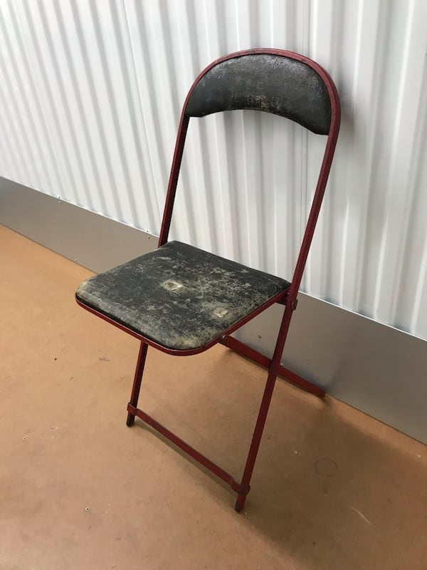 Vintage folding chair 1