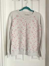 Pink and White Sweatshirt Kingston, K7P 2J5