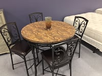 Esposito *New* Counter Height Pub Table with 4 Chairs  Only $40 Down Charlotte, 28216