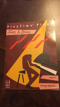 Level 1 Piano Jazz & Blues practice book Richmond Hill, L4E 2M3