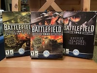 Battlefield 1942, Secret Weapons & Road to Rome Expansions EA Games PC Manhattan, 66502