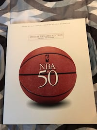 NBA at 50 large book, great book on the first 50 years of NBA Billerica, 01821