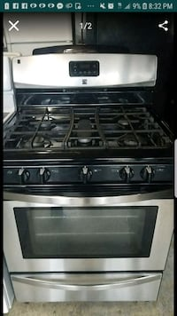 gray and black 4-burner gas range oven Temple Hills, 20748