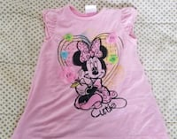 Adorable Minnie Mouse pink top  2244 mi