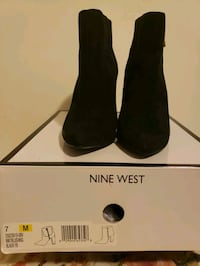 Black heeled boots from Nine West Markham, L3T 1T1