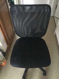 black and gray rolling chair 麦迪逊, 53705