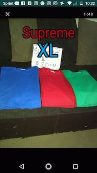 three blue, green, and red textiles Paramount, 90723