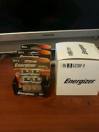 Energizer 9v long lasting power  for your devices  12 Batteries in Box Montreal, H4J 2K7