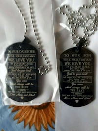GIFTS-To Son or Daughter Dog Tag  Ajax, L1S 5C7