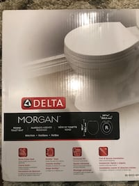 New/Never Used Round Toilet Seat Cover Silver Spring, 20910