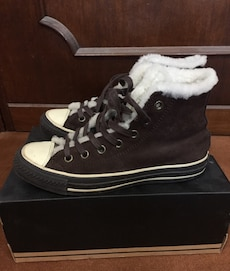 Converse All Star n.38 in suede e montone