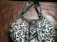 gray and black Coach monogram hobo bag Piedmont, 29673