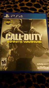 Call of Duty Infinite Warfare PS4 game case Kissimmee, 34746