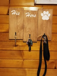 HIS, HER AND PAW PRINT.