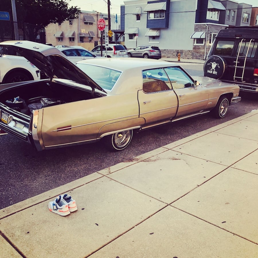 1973 Cadillac DeVille looking to trade for old school let me know wat you got