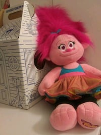 New singing Poppy from Trolls build a bear with box