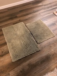 Sage Bathroom Mats (2)