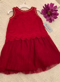 Cat & Jack Red Dress -4T Mississauga