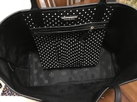 Black and white tory and burch polka dot handbag Surrey, V3R 4H1