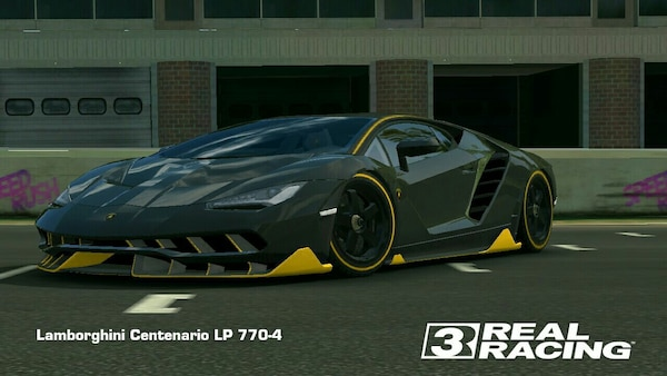 Used Black Lamborghini Centenario Lp 770 4 Real Racing 3 For Sale In