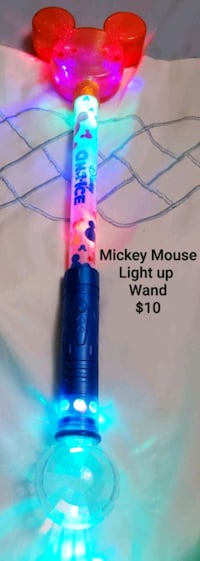 Mickey Mouse Light up wand - $10 Toronto, M9B 6C4