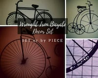 Bicycle Decor, set or individuals, $ listed Mesquite, 75181