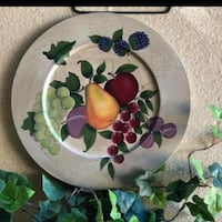 Fruit plate by home interiors Dallas, 75211