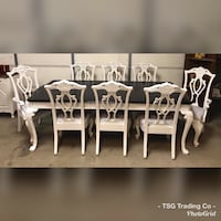 HUGE dining table set  Concord, 28027