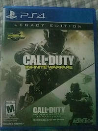 Call of Duty Infinite Warfare PS4 game case New Port Richey, 34653