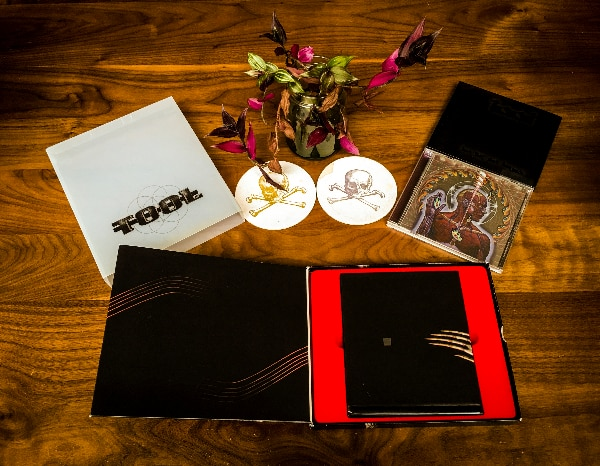 Tool 10,000 Days, Lateralus and Salival Collectible