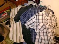 Youth Boy's Button Down Short Sleeve Shirts Bakersfield, 93308