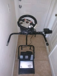 Fanatic Steering wheel with pedals for Xbox