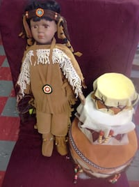 native american woman doll Coldspring, 14772
