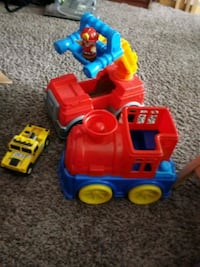Selling some toddler trucks