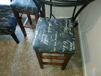 two black wooden side tables Dallas, 75229