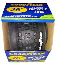 "Good Year Foldable Bicycle Tire 26""  Fairfax"