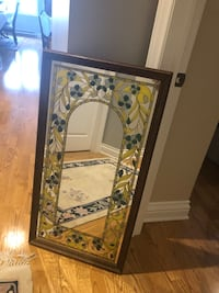 Mirror Glass Painted