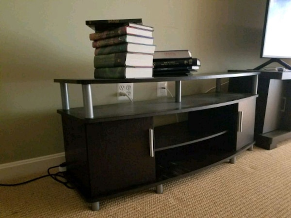 """Tv stand black for 55"""" tv"""