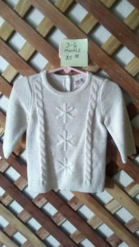 New! 3/6 months sweater with bloomers San Angelo, 76901