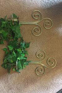 Wall sconces with greenery Carterville, 64835