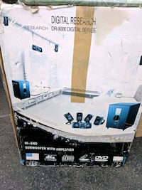 Surround sound, subwoofer and amplifier Toronto, M3N 3A1