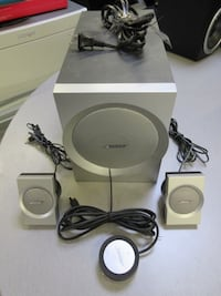Bose Companion 3 System perfect condition. Sub and 2 speakers with built in amp.  New York, 10013