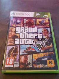 Grand Theft Auto Five Xbox 360 spill tilfelle